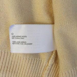 Club Monaco Sweaters - Club Monaco Merino Wool Crop Sweater